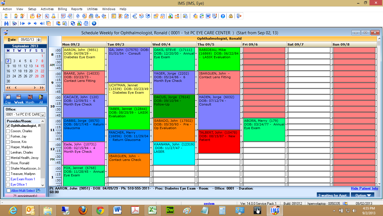 patient scheduling software